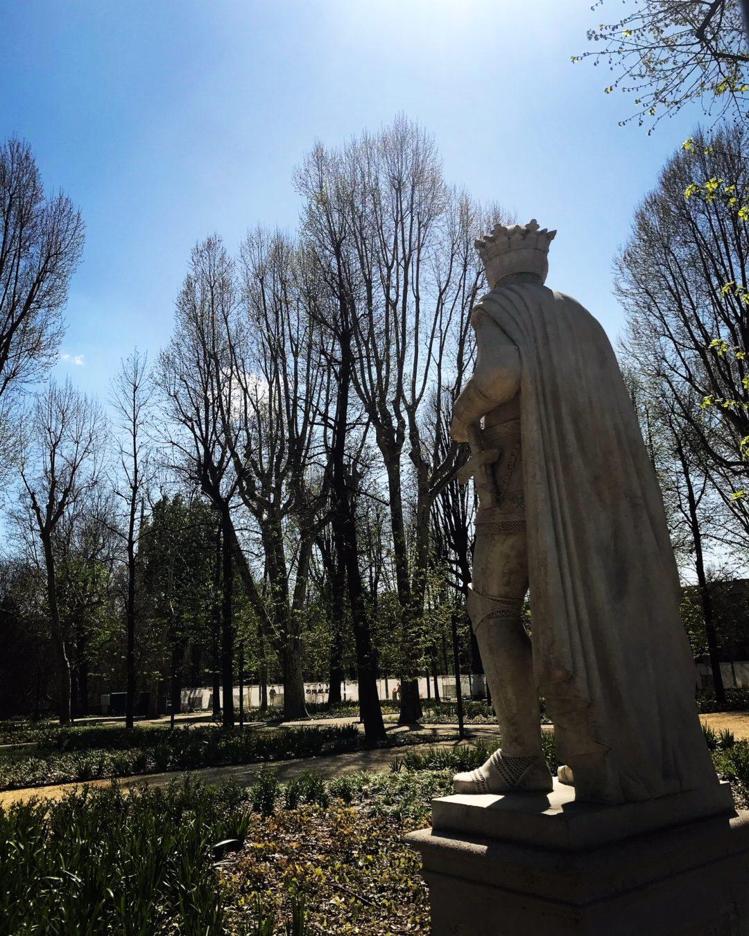 Per gentile concessione del sovrano // Giardini Reali